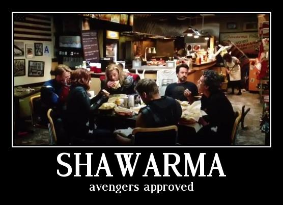 AVENGERS ASSEMBLE ... for snacks.